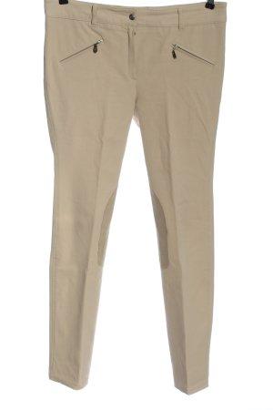 Pamela Henson Jersey Pants natural white business style