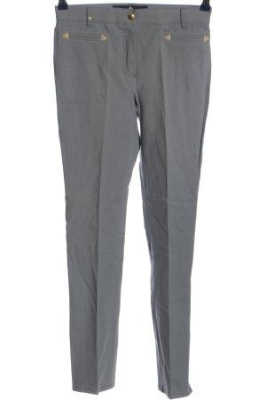 Pamela Henson Pantalone jersey grigio chiaro stile professionale