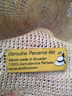 Barrancos Panama Hats Kapelusz panama kremowy