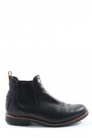 Panama jack Chelsea Boots schwarz-braun Casual-Look