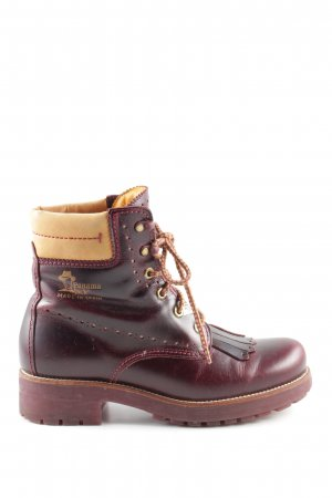 Panama jack Desert Boots rot Casual-Look