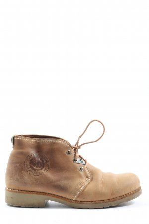 Panama jack Chukka boot brun style décontracté