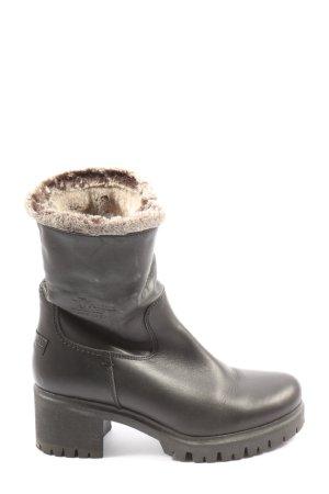 Panama jack Korte laarzen zwart casual uitstraling