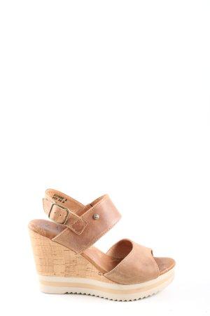 Panama jack Wedges Sandaletten nude Casual-Look