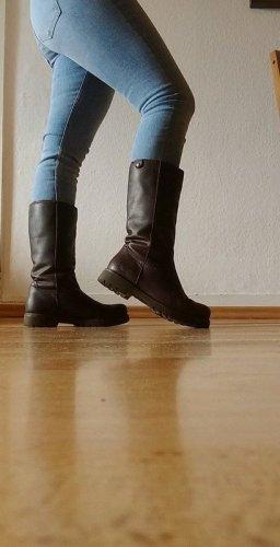 Panama jack Bottes de neige brun cuir