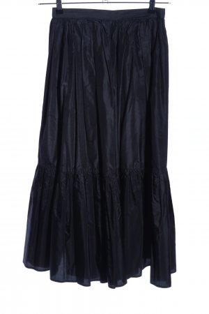 Pancaldi Plaid Skirt black casual look