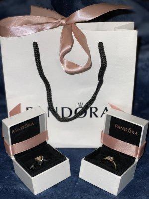 Pandora 14K Charm & Ring