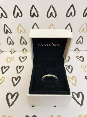 Pandora Ring with Decorative Stone silver-colored-white