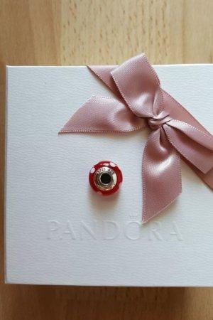 Pandora Bedel wit-donkerrood