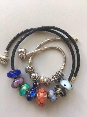 Pandora Bracelet argenté-noir