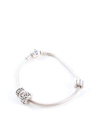 Pandora Braccialetto sottile argento stile festa