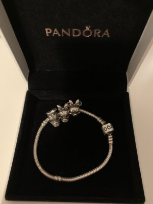 Pandora Pulsera color plata