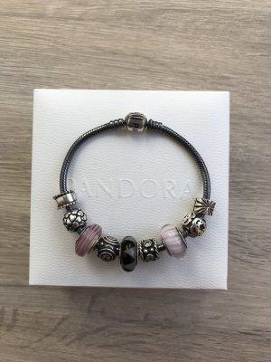Pandora Armband veelkleurig Zilver