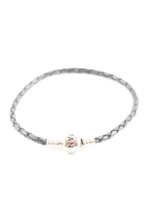 Pandora Armband schwarz-silberfarben Casual-Look