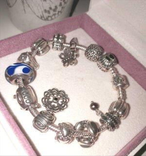 Pandora Armband lichtgrijs Zilver