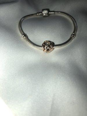 Pandora Silver Bracelet silver-colored-rose-gold-coloured