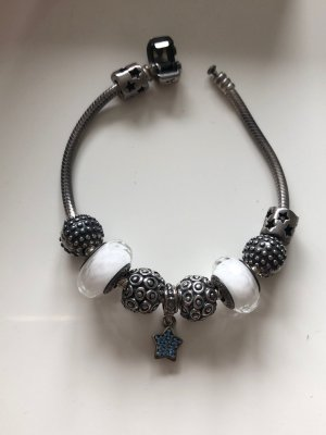Pandora Armbandje met bedels zilver
