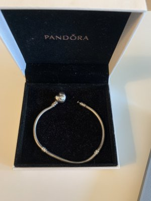 Pandora Silver Bracelet silver-colored real silver
