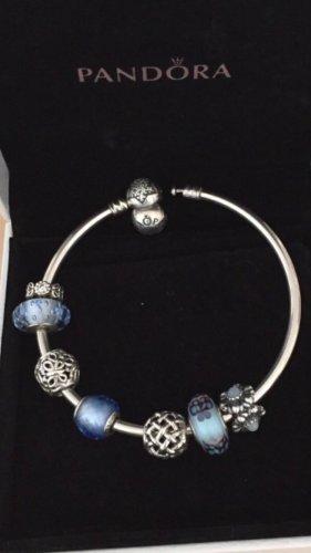 Pandora Armband inkl. 7 Charms