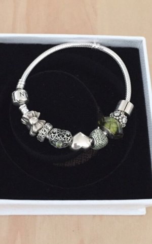 Pandora Armband inkl. 8 Charms