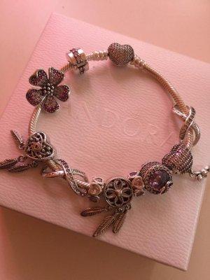 Pandora Bracelet argenté-rose