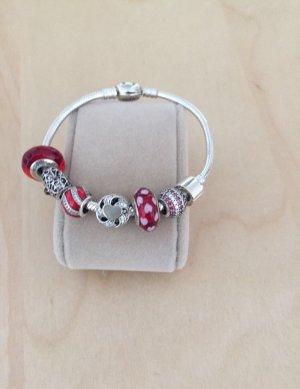 Pandora Armband mit 7 Charms