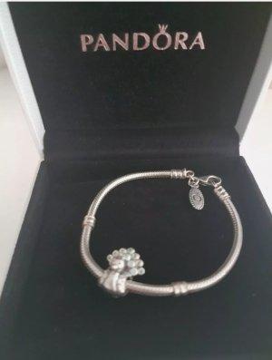 Pandora Bracelet en argent argenté-vert