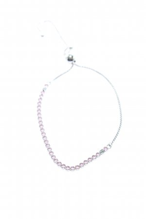 Pandora Pulsera color plata-rosa elegante