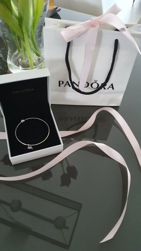 Pandora Braccialetto in argento argento-rosa