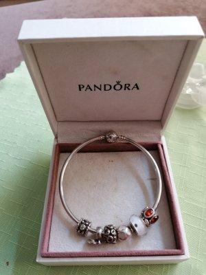 Pandora Bangle silver-colored