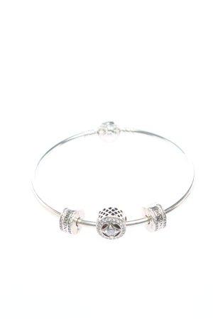 Pandora Sztywna bransoletka srebrny W stylu casual