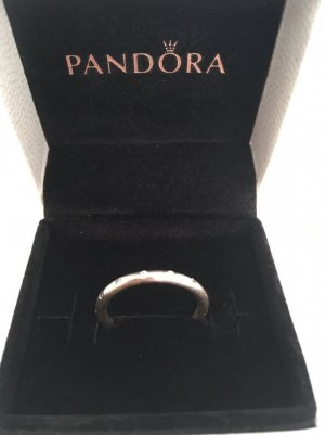 Pandora Silver Ring white metal