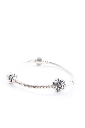 Pandora Pulsera de dijes color plata elegante