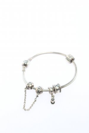 Pandora Pulsera de dijes color plata look casual