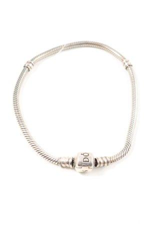 Pandora Bracelet à breloques argenté pailleté