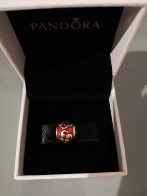 Pandora Charm carmine-russet real silver
