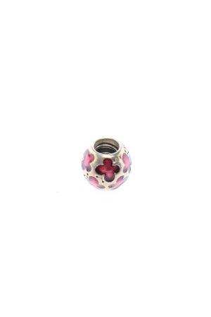 Pandora Ciondolo argento-rosa motivo floreale stile casual