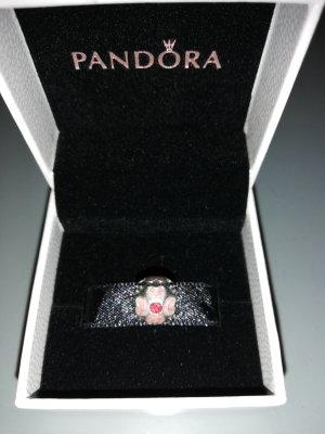 Pandora Dije rojo frambuesa-rosa empolvado