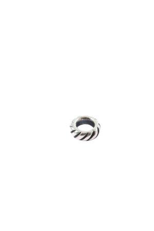 Pandora Bedel zilver-zwart wetlook