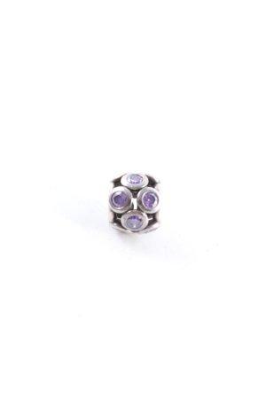 Pandora Ciondolo argento-lilla stile casual