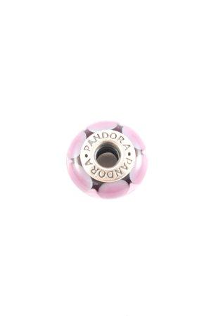 Pandora Charm pink-silberfarben Casual-Look