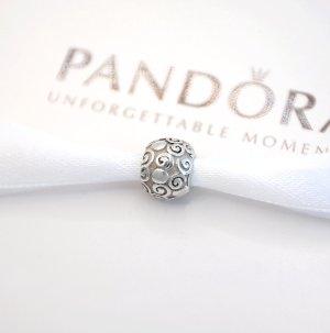 Pandora Charm * Glänzende Silber-Kugel