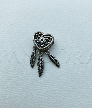 Pandora Breloque argenté-noir