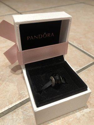 Pandora Charm Murano schwarz neu