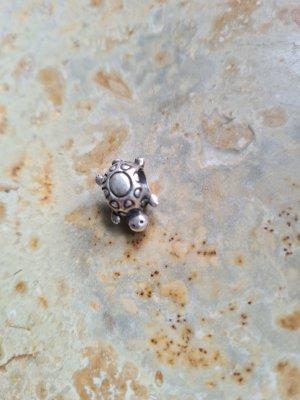 Pandora Charm silver-colored-light grey