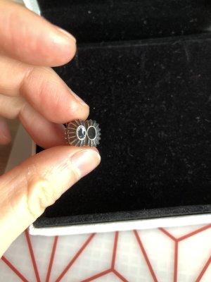 Pandora Charms czarny-srebrny