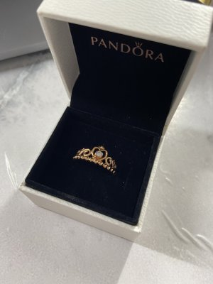 Pandora Diadem Krone Ring Roségold Gr. 55