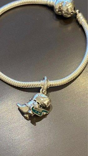 Pandora Bedel zilver-cadet blauw Metaal