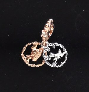 Pandora Charm rose-gold-coloured-silver-colored