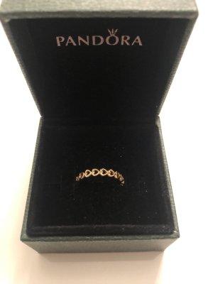 Pandora Gereihte Herzen Ring inkl. Hülle (Gr. 52)